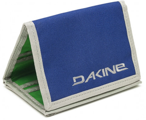 WALLET Dakine Diplomat Portway Purse Ripper Coins Notes Cards Identity NEW! Blue