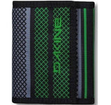 WALLET Dakine Verde Purse Ripper Coins Notes Cards