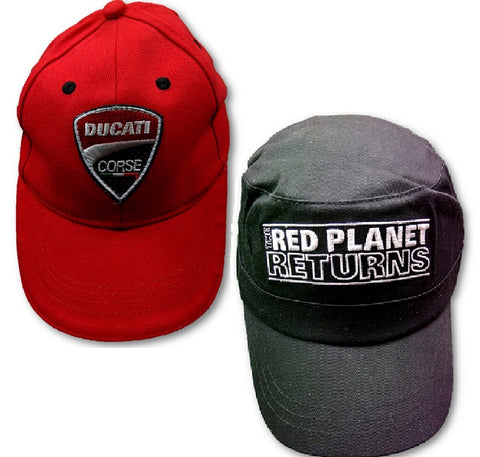 CAPS X 2 Ducati kids & Adult Red Planet WDW2010 Bike MotoGP Ducati Corse NEW!