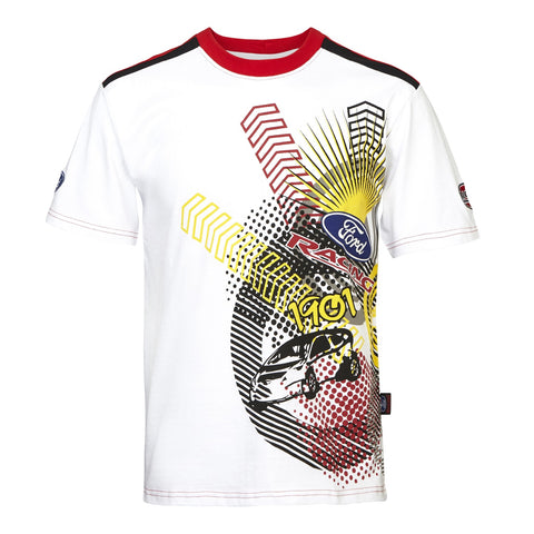 T-Shirt 3029 RallyCross Shortsleeve MSE Ford Extreme Rally NEW! White