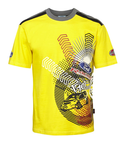 T-Shirt 3030 RallyCross MSE Ford Rally Yellow