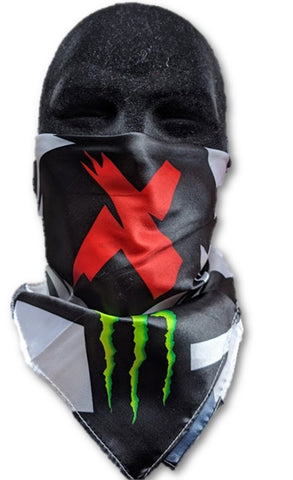 BANDANA Lorenzo 99 Monster Ducati Neckerchief MotoGP Scarf FaceMask Bike NEW 20""
