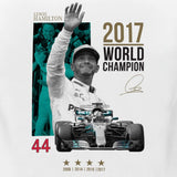 T-SHIRT Mercedes AMG Petronas Hamilton World Champion 2017 Formula One 1 New