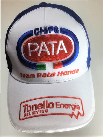 CAP Hat Team Pata HONDA Racing Bike World Superbike WSBK Motorcycle NEW!