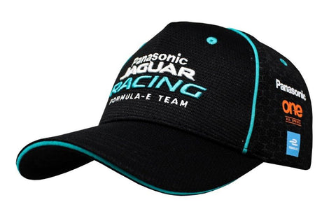 CAP Hat Jaguar Racing Formula E Panasonic Team Racing Logo NEW! Black