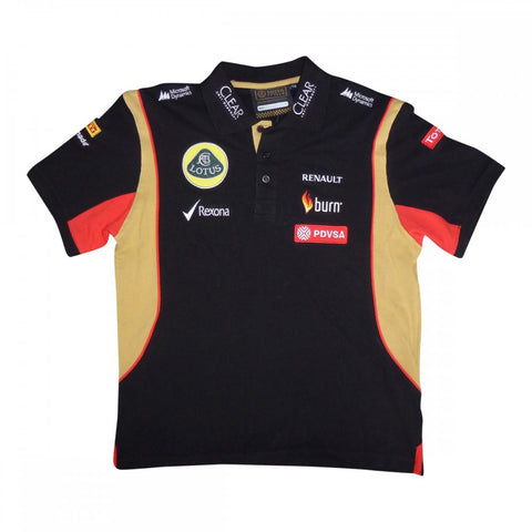 Polo Shirt kids kids Lotus F1 2014/5