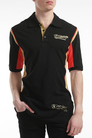 POLO SHIRT Adult Formula One 1 Lotus F1 Team NEW! Kimi Raikkonen Lifestyle