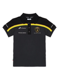 POLOSHIRT Children Automobili Lamborghini Sportscar POLO Kids Black NEW