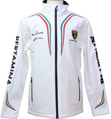 JACKET ladies Softshell Lamborghini Soft Shell WOMENS Coat Squadra Corsa NEW!