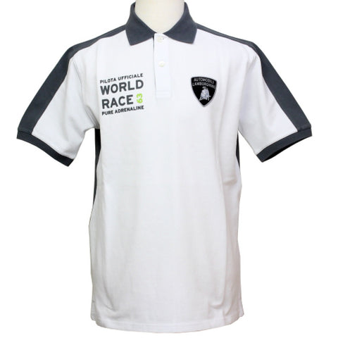 POLOSHIRT Automobili Lamborghini Sportscar Le Mans WORLD RACE Polo NEW!