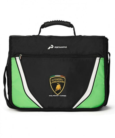 BAG Messenger Laptop Shoulder School Automobili Lamborghini Sportscar NEW! Gift