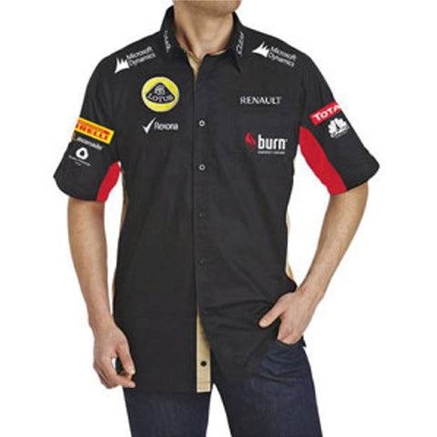 Shirt Lotus F1 Shirt Burn Black 2013