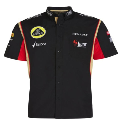 Shirt Lotus F1 Shirt Black 2013 XS