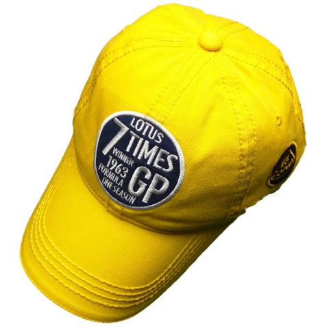 CAP LMAS19 Formula One 1 Team Lotus F1 NEW! Vintage 7 Times Winners 1963 Yellow