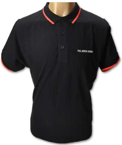 POLOSHIRT Polo ladies Formula One 1 McLaren Honda F1 Team Black Partner NEW!
