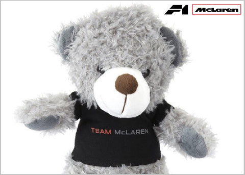 TEDDY Bear Kids Formula One 1 Team McLaren F1 NEW Children Teddybear Mascot Gift