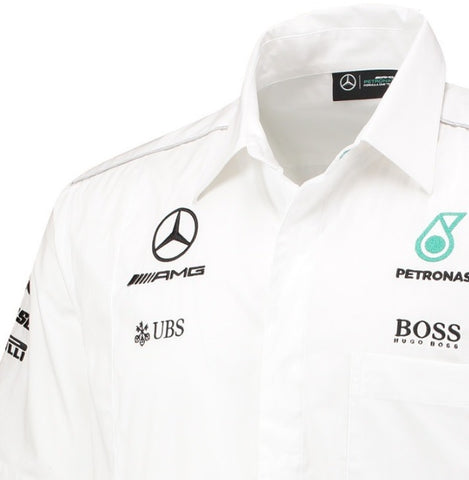 SHIRT Mercedes AMG Petronas Teamshirt Hamilton Formula One 1 F1 New! Extra Small