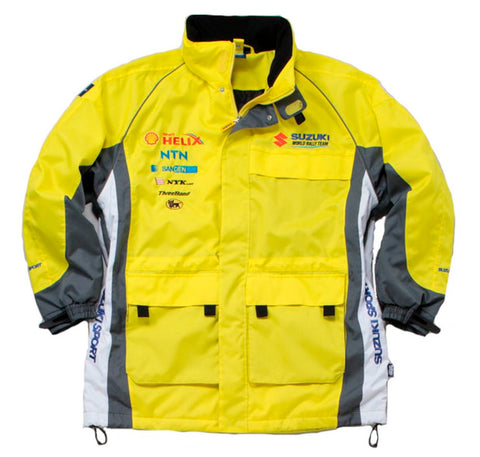 JACKET WRC Challenge Suzuki Sport World Rally Team Motorsport NEW! Heavy