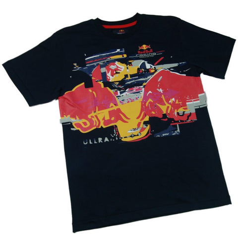 T-SHIRT kids Formula One 1 Red Bull F1 Team 2006 Season Tour Dates Rare NEW