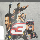 T-Shirt Red Bull Racing Formula One Team Mens Daniel Ricciardo Tee F1 NEW!