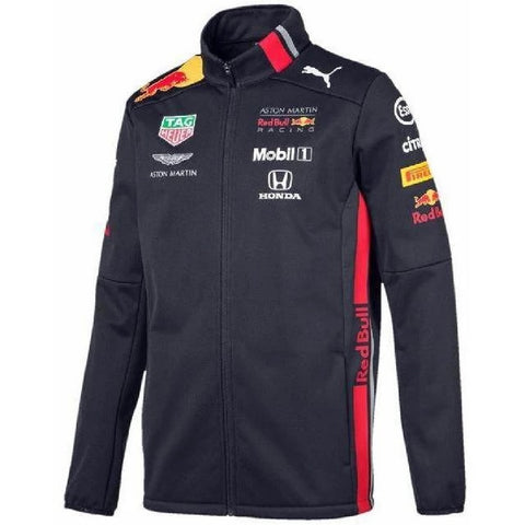 JACKET Soft Shell Aston Martin Red Bull Racing Formula 1 One Mens PUMA NEW!