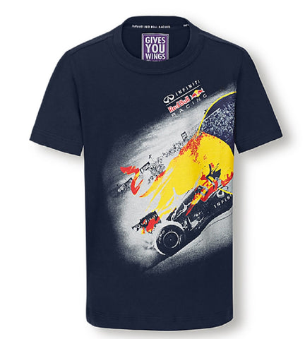 T-Shirt Infiniti Red Bull F1 Graphic
