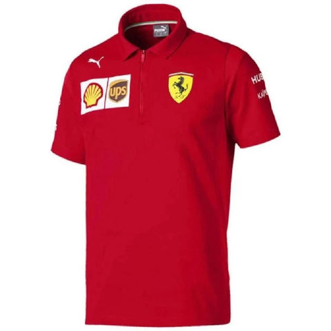 POLO Scuderia Ferrari Childrens Formula One 1 Team Poloshirt NEW! Kids Red