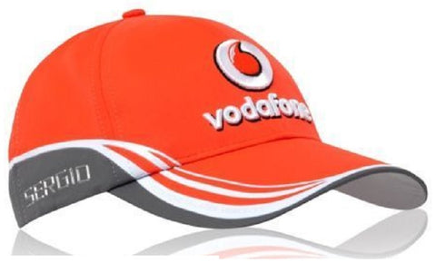 CAP Formula One 1 Vodafone McLaren Mercedes F1 Team NEW! 2013 Sergio Perez kids