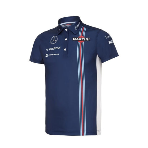 POLO ladies Williams Martini F1 Formula One 1 NEW! Mercedes Womens Poloshirt
