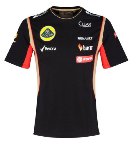 T-Shirt Children kids Formula One 1 Lotus F1 NEW PDVSA Sponsor 2014/5