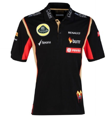 Polo Shirt Lotus F1 Maldonado 2014/5