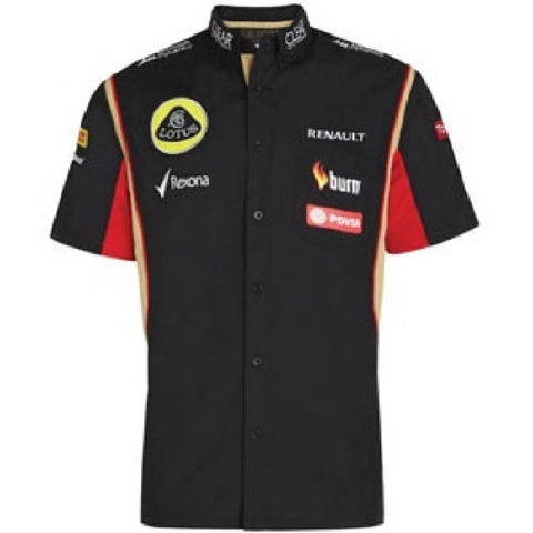 SHIRT Formula One 1 Lotus F1 Team PDVSA NEW! Raceshirt 2014/5