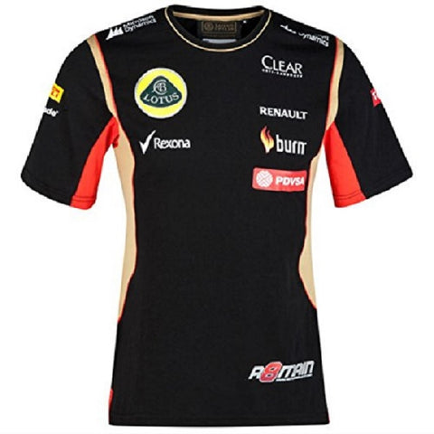 T-Shirt Lotus F1 Grosjean 2014/5