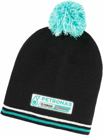 HAT Beanie ROSSI MotoGP Petronas Yamaha Factory Racing Motorcycle NEW! Black