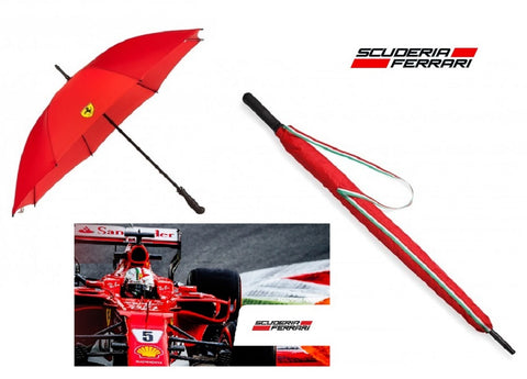 UMBRELLA Scuderia Ferrari LARGE 50 inch Red Formula One F1 NEW! Golf