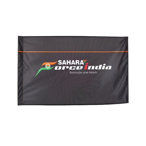 FLAG Formula One 1 Sahara Force India F1 Team NEW! Black Size: 900mm x 600mm