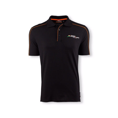 POLO Poloshirt Sahara Force India Formula One 1 Team Fan F1 NEW! Black