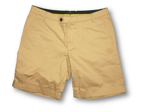 Shorts Bermuda Cotton Lotus F1 Beige