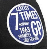 CAP LMAS19 Formula One 1 Team Lotus F1 NEW! Vintage 7 Times Winners 1963 Black
