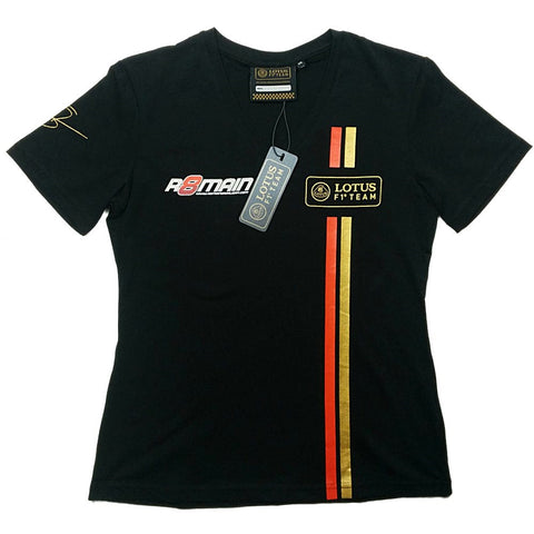 T-Shirt Ladies Lotus F1 Grosjean 2014/5