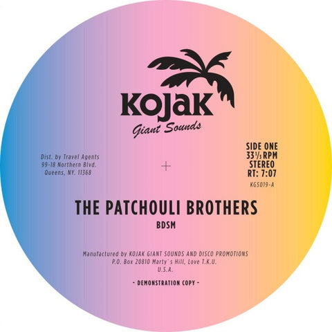 The Patchouli Brothers - BDSM / Get A Chance