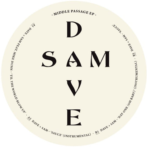 Dave + Sam - Middle Passage EP