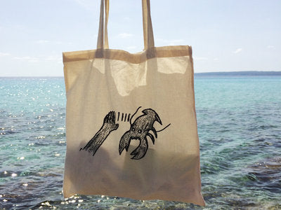 Lobster Theremin Tote Bag