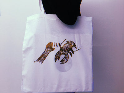 LTD Lobster Tote Bag - Bronze / White