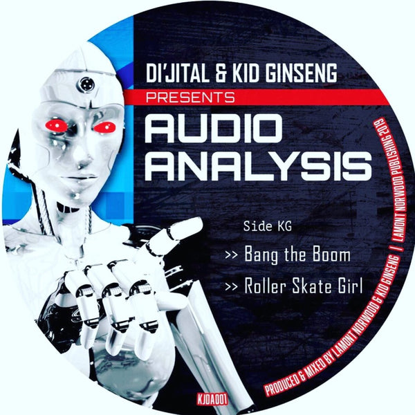 Di'jital & Kid Ginseng - Audio Analysis Ep (PRE-ORDER)