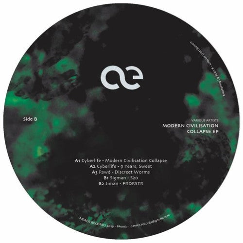 Various Artists - Modern Civilisation Collapse EP (PRE-ORDER)