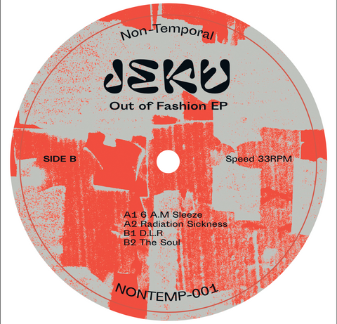 Jeku - Out Of Fashion EP (PRE-ORDER)