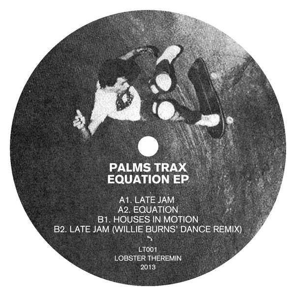 Palms Trax - Equation EP - Lobster Records