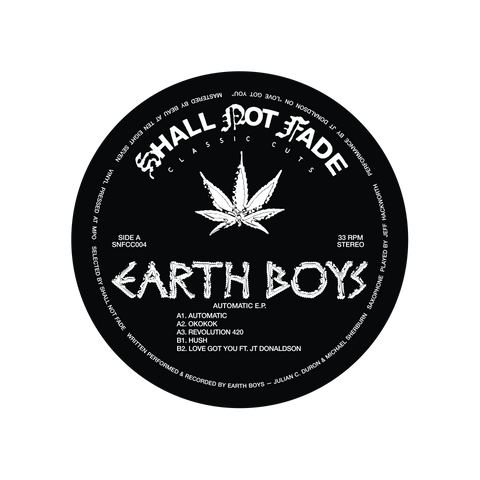 Earth Boys - Automatic EP (PRE-ORDER)