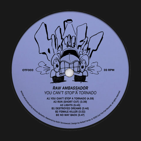 Raw Ambassador - You Can't Stop A Tornado